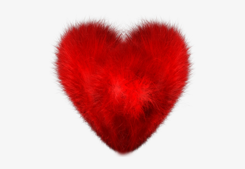 Clip Arts Related To - Fuzzy Heart, transparent png #865828