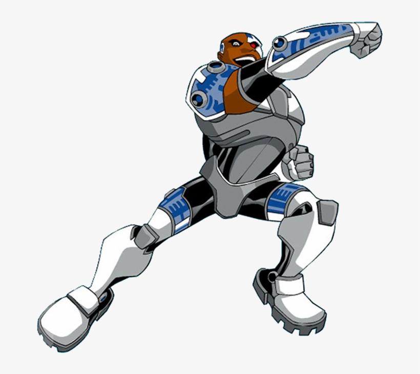 Teen Titans Cyborg Jinx