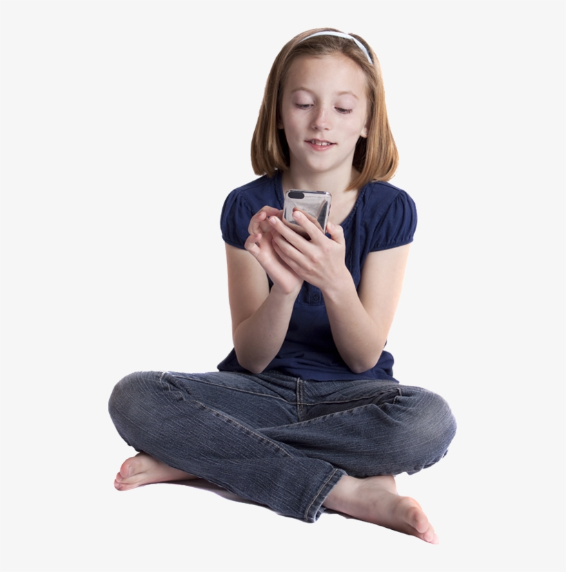 Kid Sitting Png Download - Kid Sitting Girl, transparent png #868265
