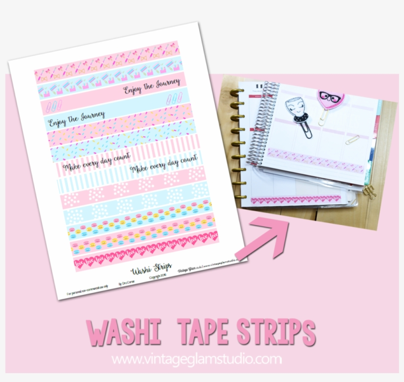 This is a picture of Free Printable Washi Tape with regard to square vintage flower png