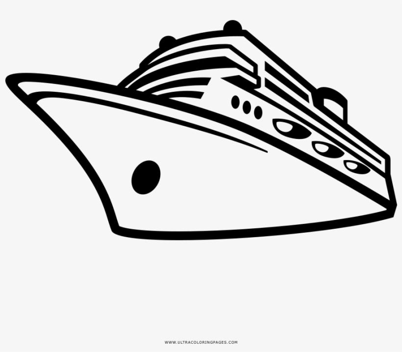 Cruise Ship Coloring Page Nave Da Crociera Disegno Free Transparent Png Download Pngkey
