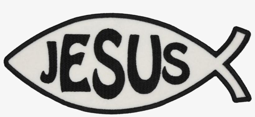 Pm441 Christian Jesus Fish Patch Patch - Emblem, transparent png #8609498