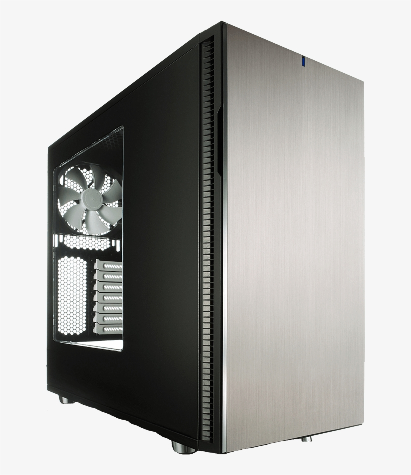Fractal Design Define R5 Titanium Window Case - Fractal Design Define R5 Titanium Window, transparent png #8620173