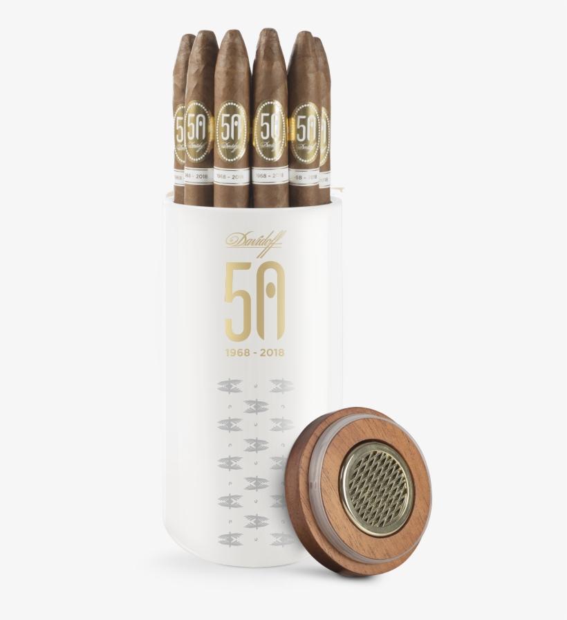 50th Jar Asia - Davidoff 50th Anniversary Jars, transparent png #8621719