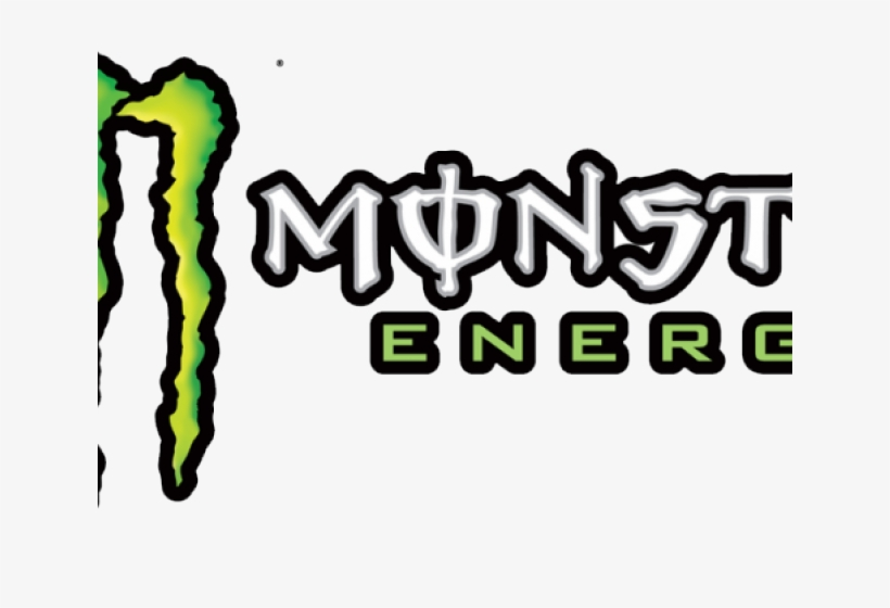 Monster Energy Clipart Png Text - Monster Energy Logo Png, transparent png #8626414