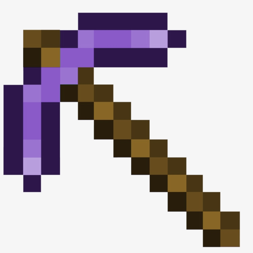 Overview Obsidiantools Hei Enberg Mods Projects Minecraft Minecraft Diamond Pickaxe Png Free Transparent Png Download Pngkey