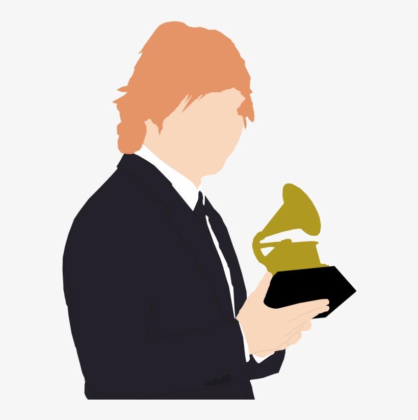 Ed Sheeran Wins His First Grammy - Ed Sheeran Png, transparent png #8626514