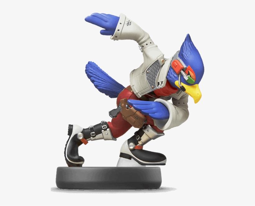 Nintendo Amiibo - Falco From Super Smash Bros, transparent png #8628289