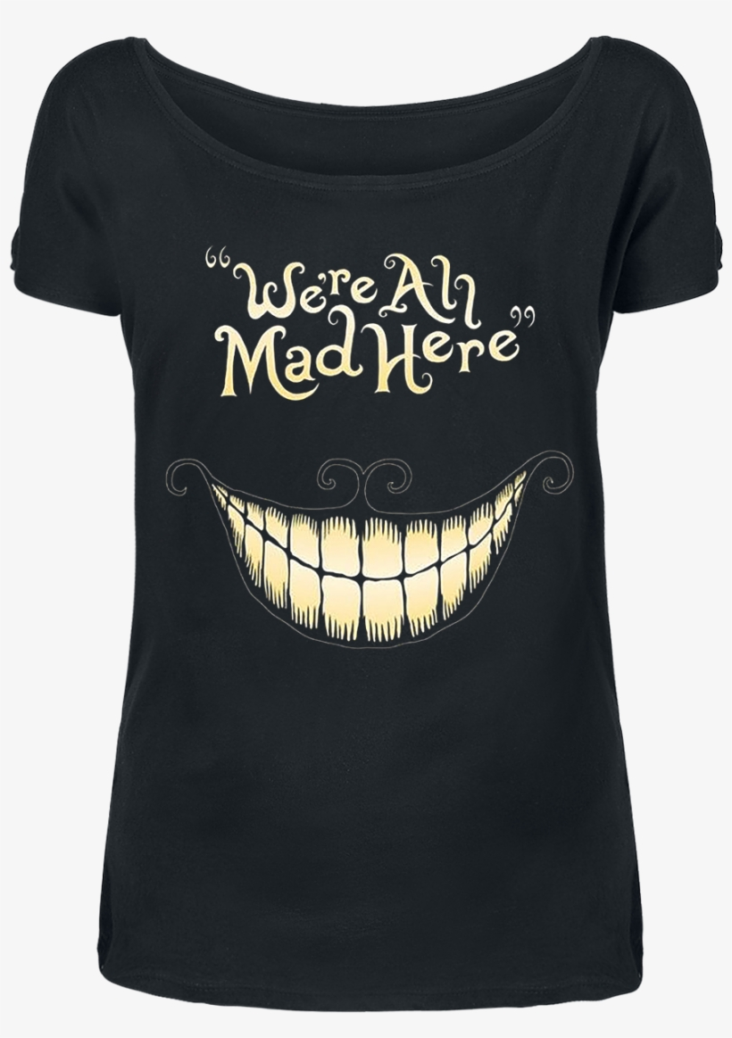 Null Cheshire Cat - Cheshire Cat We Re All Mad Here, transparent png #8638932