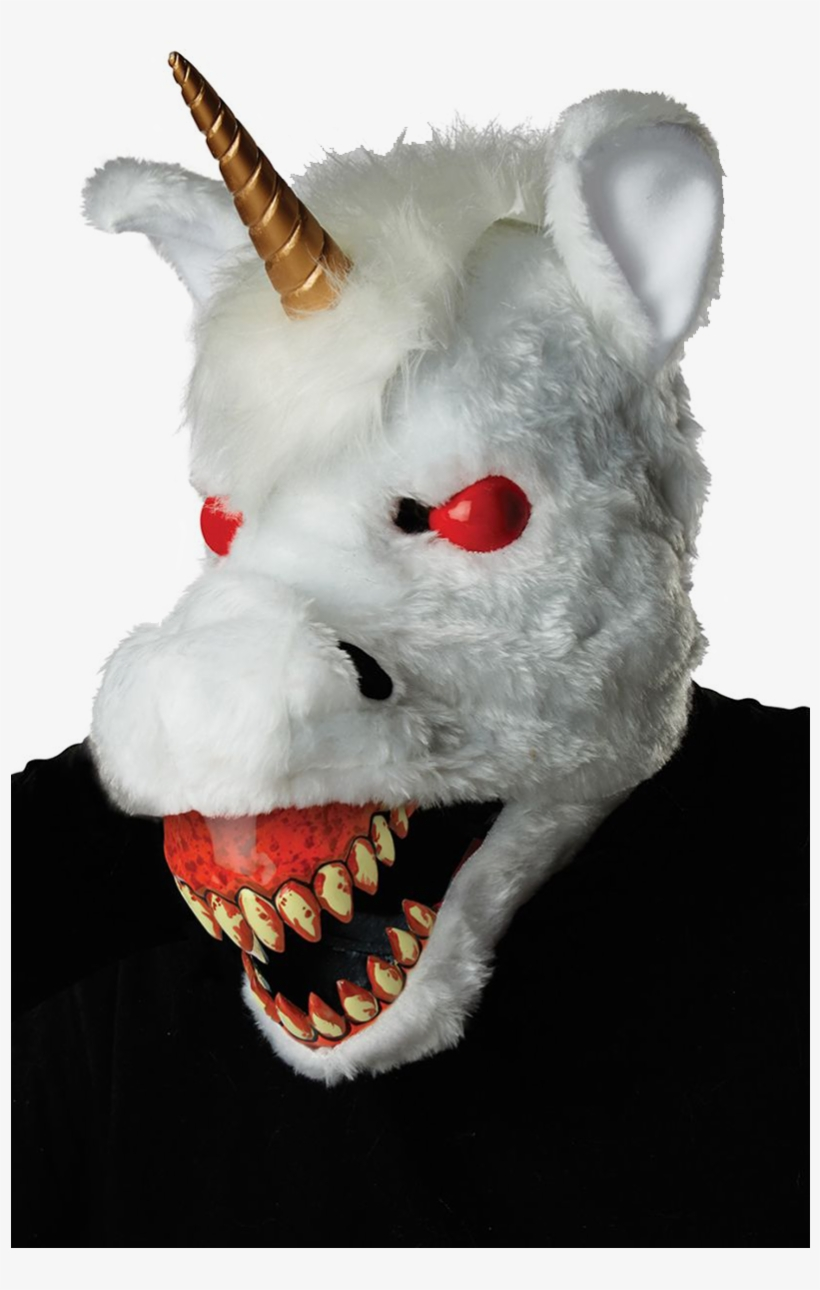 Evil - Evil Unicorn Ani Motion Mask, transparent png #8638975