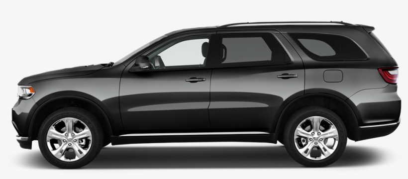 2016 Dodge Durango Side View - Dodge Ram Side View, transparent png #8651620