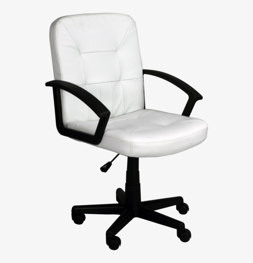 Office Chair Png Image - Transparent Background Desk Chair Png, transparent png #8655944