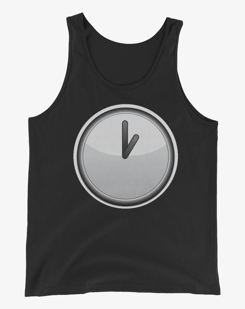 Men's Emoji Tank Top - T-shirt, transparent png #8656772