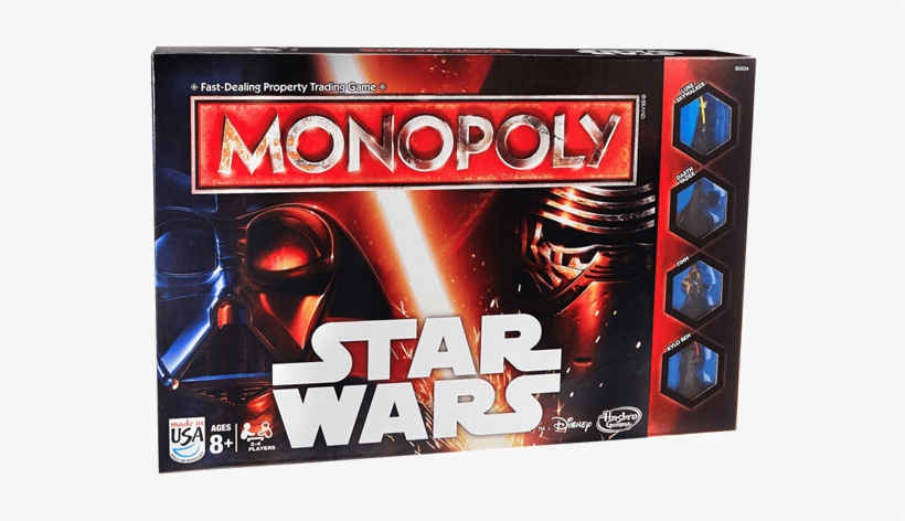 Star Wars Monopoly Game, transparent png #8661884