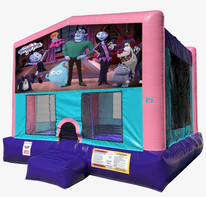 Vampirina Bounce House Pink Edition Rentals In Austin - Lol Surprise Bounce House, transparent png #8662668