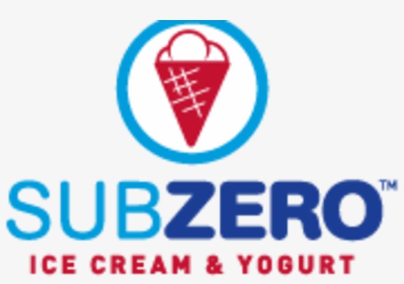 Sub Zero - Sub Zero Ice Cream Logo Ice Cream, transparent png #8664258