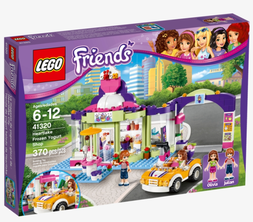 Navigation - Lego Friends Heartlake Frozen Yogurt Shop, transparent png #8665593