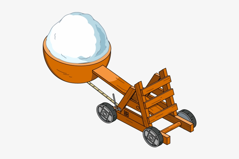 Snowball Catapult - Family Guy Quest For Stuff Decorations Wikia, transparent png #8672299