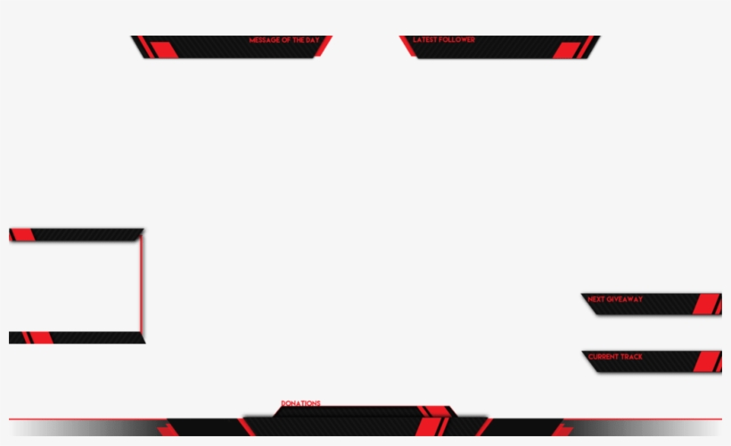 Live Stream Overlay Template Png, transparent png #8673170