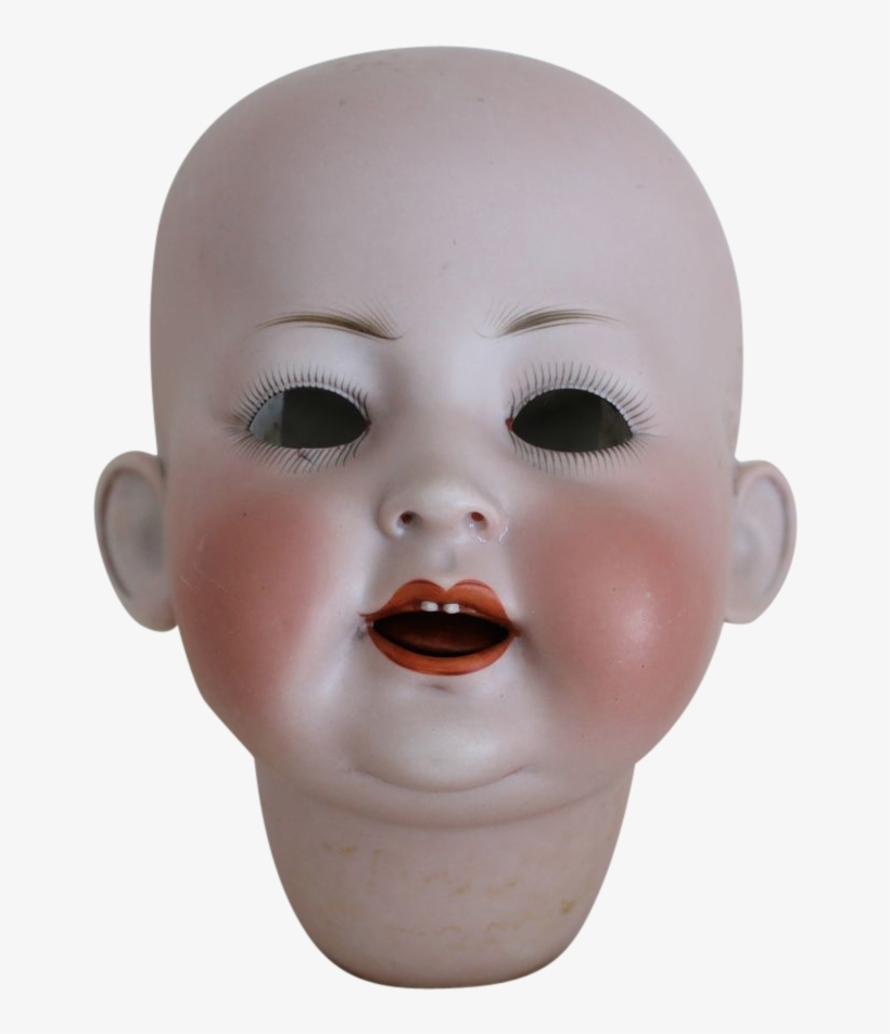 Creepy Baby Doll - Baby Doll Head Png, transparent png #8675327