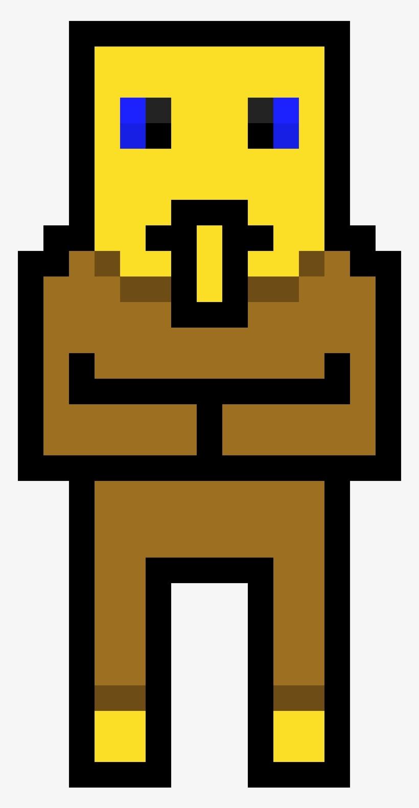 Villager Villager Pixel Art Free Transparent Png Download Pngkey
