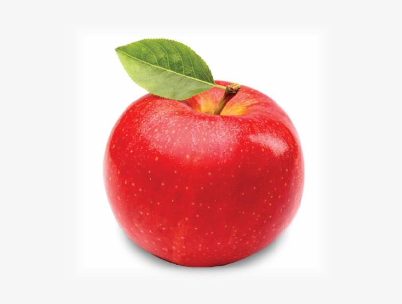 Apple - Single Fruits And Vegetables, transparent png #870681