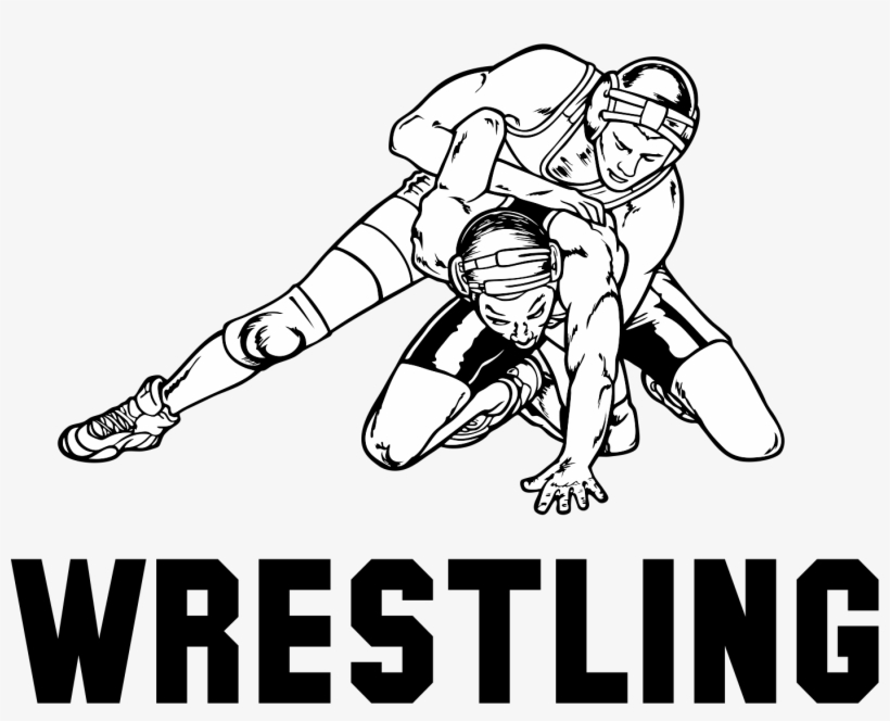 28 Collection Of High School Wrestling Drawings - High School Wrestling Png, transparent png #871000