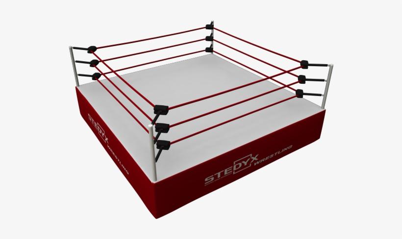 Wrestling Cage Png - Pro Wrestling Ring Png, transparent png #871346