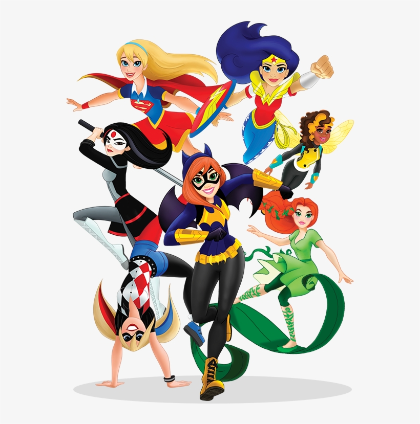 Welcome To The World Of Dc Super Hero Girls - Super Hero Girls, transparent png #872280