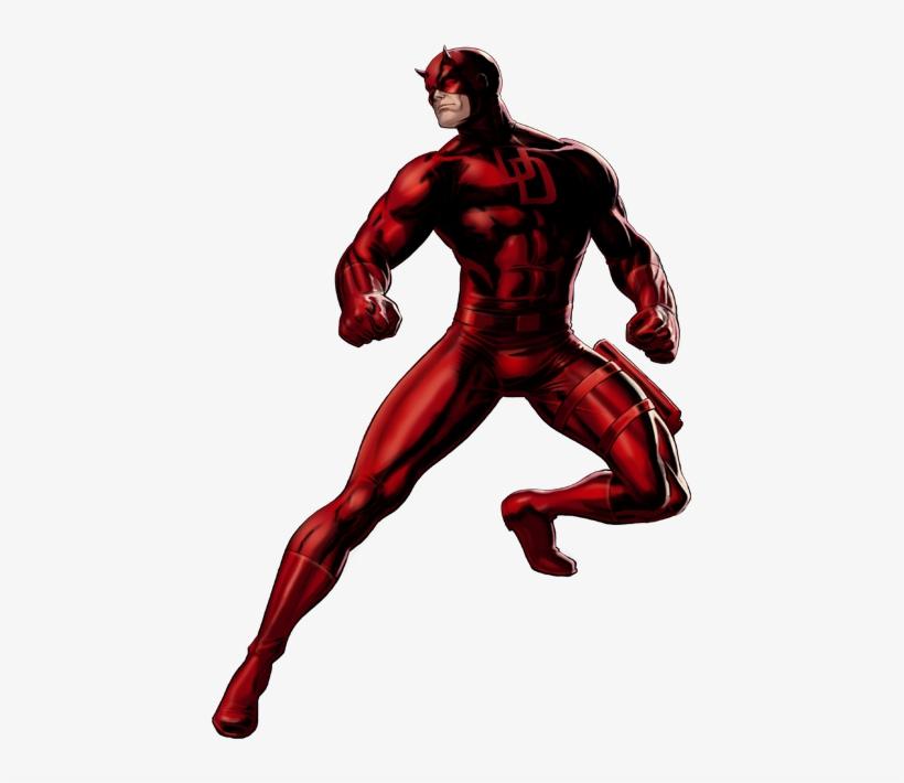 Daredevil Clipart Marvel Superheroes - Marvel Super Heroes White Background, transparent png #872568