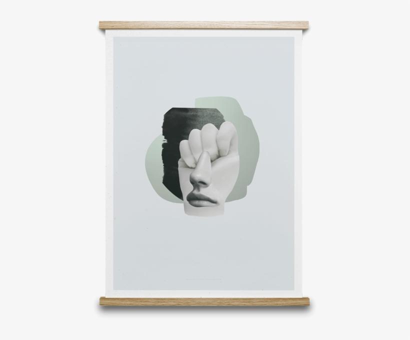Salut 02 Print, 50 X 70cm - Paper Collective Frame, transparent png #873460