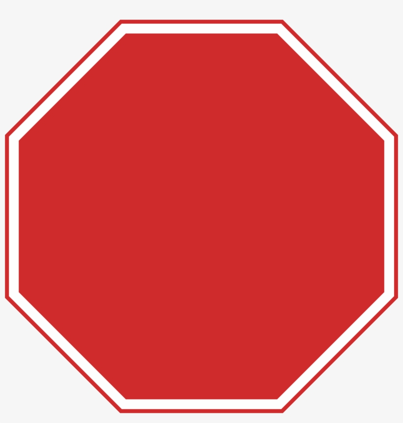 File Nepal Sign A - Blank Stop Sign Png, transparent png #874362