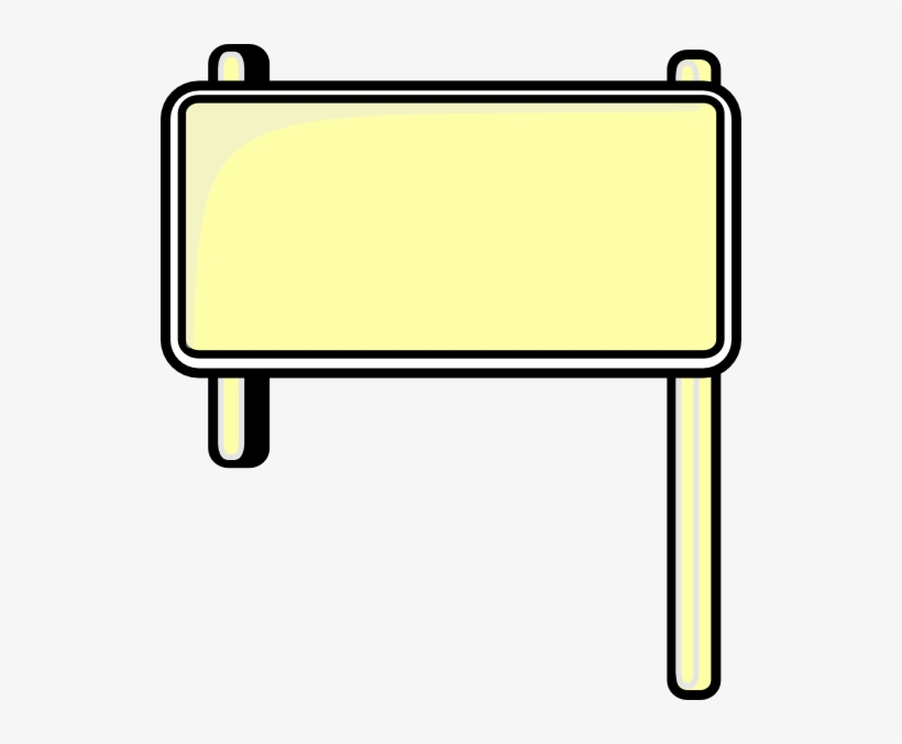 Blank Street Signs Png - Road Sign Boards Clipart, transparent png #874393