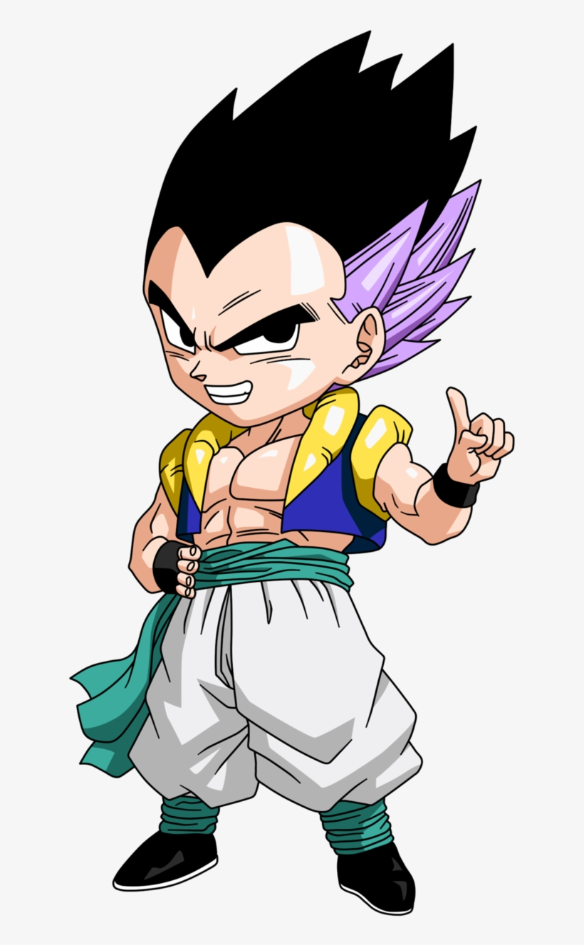 Chibi gotenks stickers de dragon ball