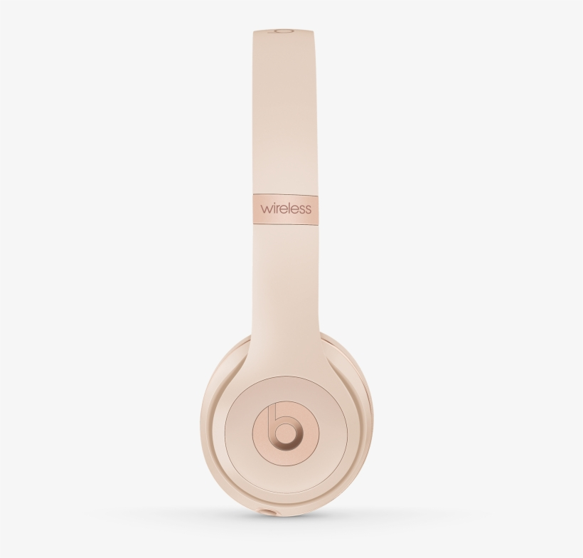 Beats Solo3 Wireless Beats Solo3 Wireless Headphones Matte Gold Free Transparent Png Download Pngkey