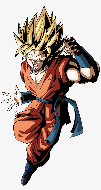 Goku Clipart Dibujos - Dragon Ball Super Goku Super Saiyan Blue, transparent png #875253
