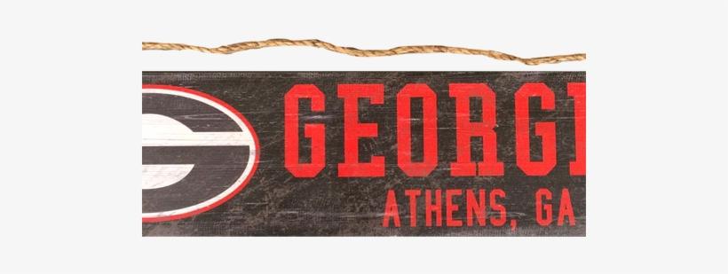 Georgia Bulldogs Logo Wood Sign Fan Creations Ncaa Team Name Sign