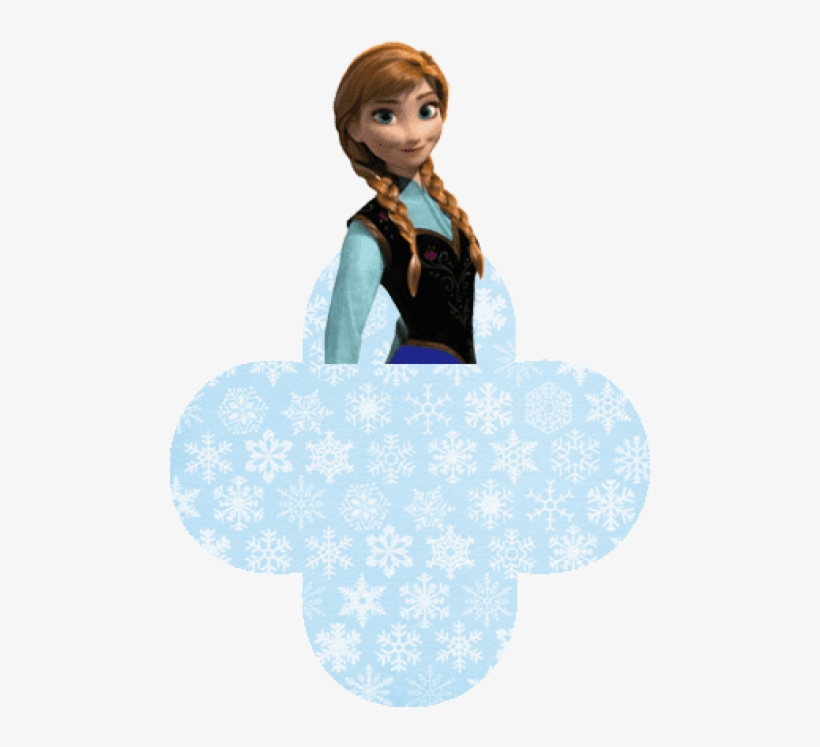 Passatempo Da Ana - Anna Frozen Blue Dress, transparent png #878681