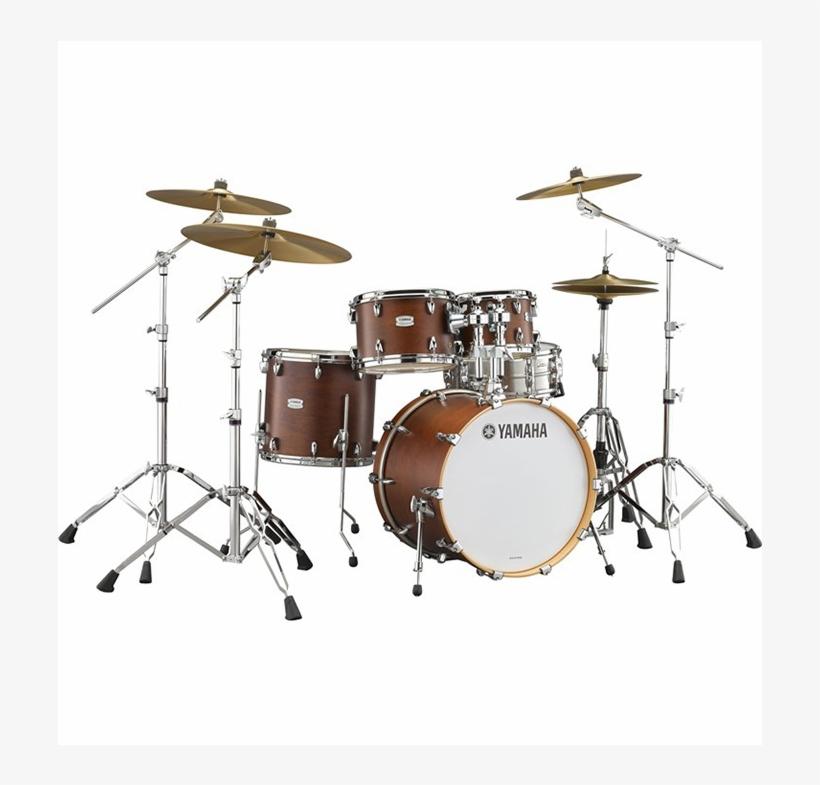 Tour Custom Chs Drum Set - Yamaha Drums Set Red, transparent png #879655