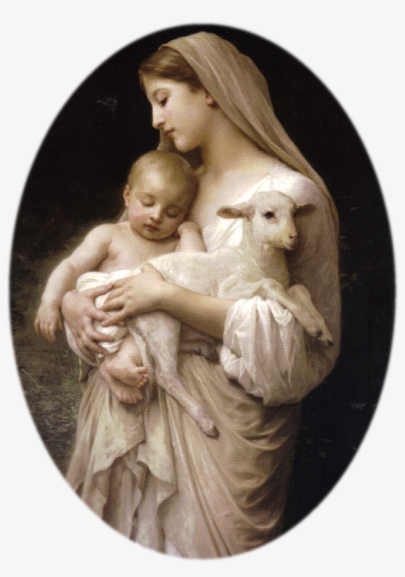 The Magnificat, Or Canticle Of Mary, Is The Longest - Virgin Mary Baby Jesus, transparent png #8704919