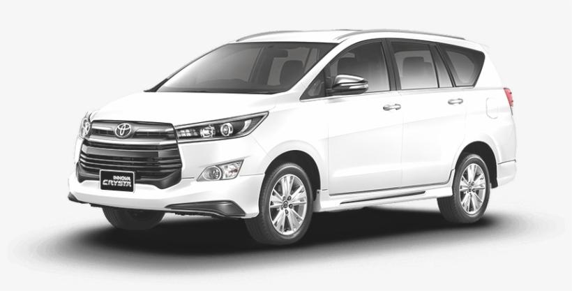 2017 2018 Toyota Innova Crysta Thailand Toyota Hilux - Transparent Toyota Innova Png, transparent png #8707007