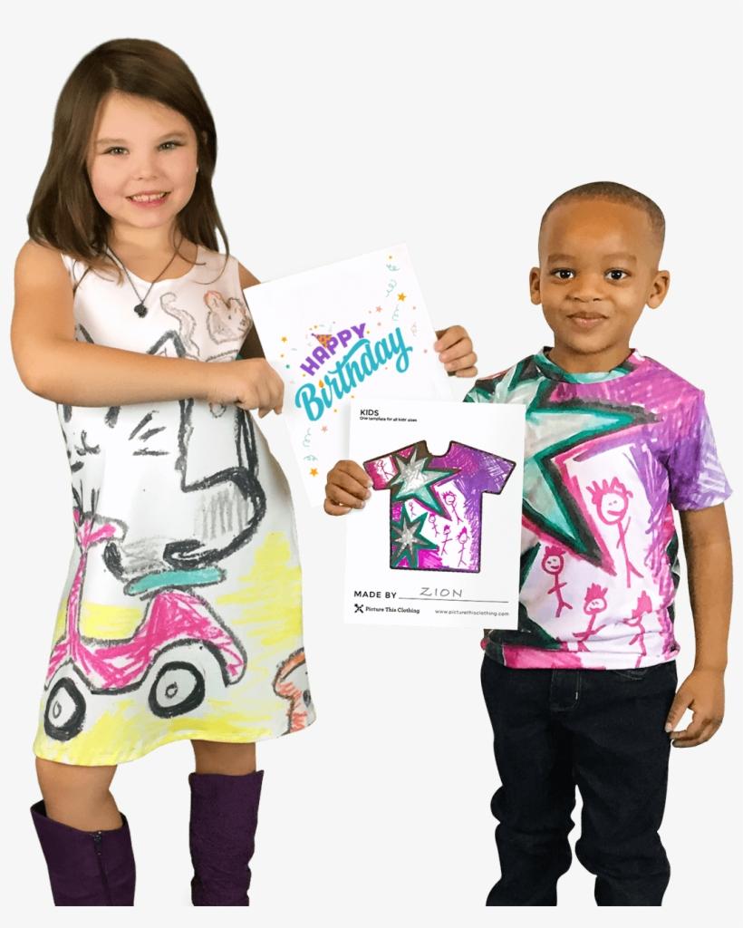 Kids Draw Dresses, transparent png #8707852