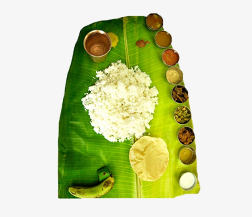 1 - Banana Leaf Rice, transparent png #8717355