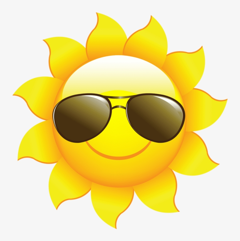 Free Png Download Sun Clipart For Kids Png Png Images - Sun With Sunglasses Png, transparent png #8717490