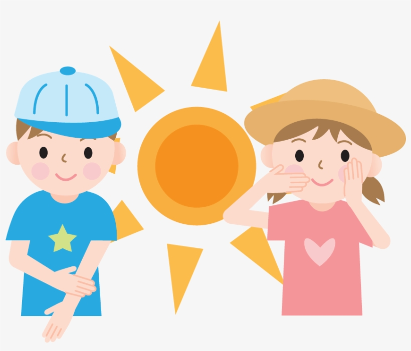 Summer Means Fun In The Sun And In The Water And No - Uv Rays And Kids, transparent png #8717699