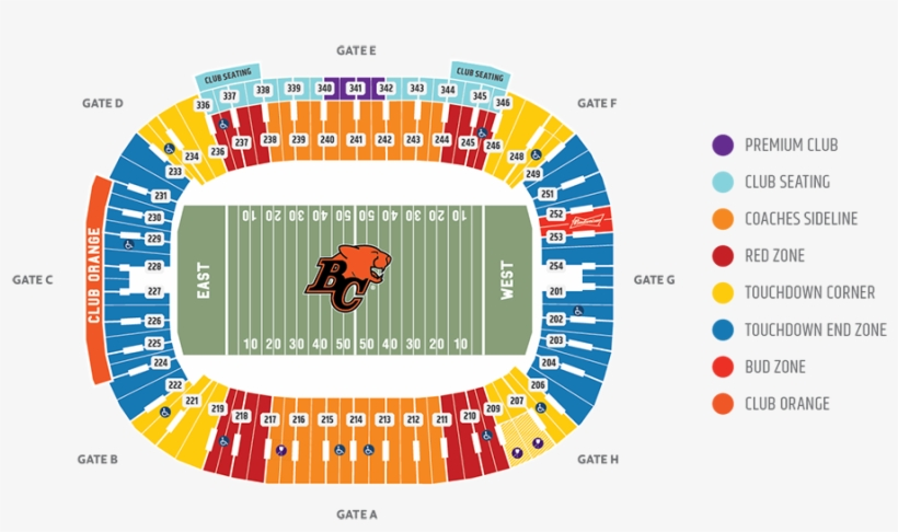 Lions Tickets Seating Chart Sunna