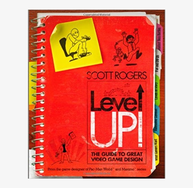 Level Up - Level Up A Guide To Great Game Design, transparent png #8725230