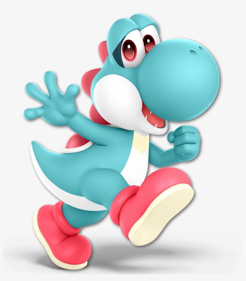 Ci ✘ On Twitter - Super Smash Bros Ultimate Yoshi Png, transparent png #8729670