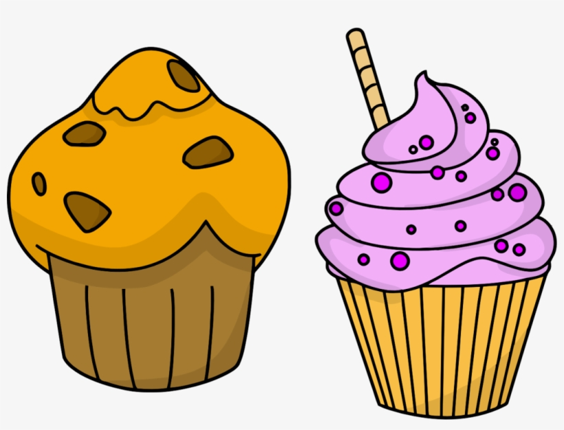 Free Muffin Clipart - Animated Ice Cream Transparent, transparent png #8732954