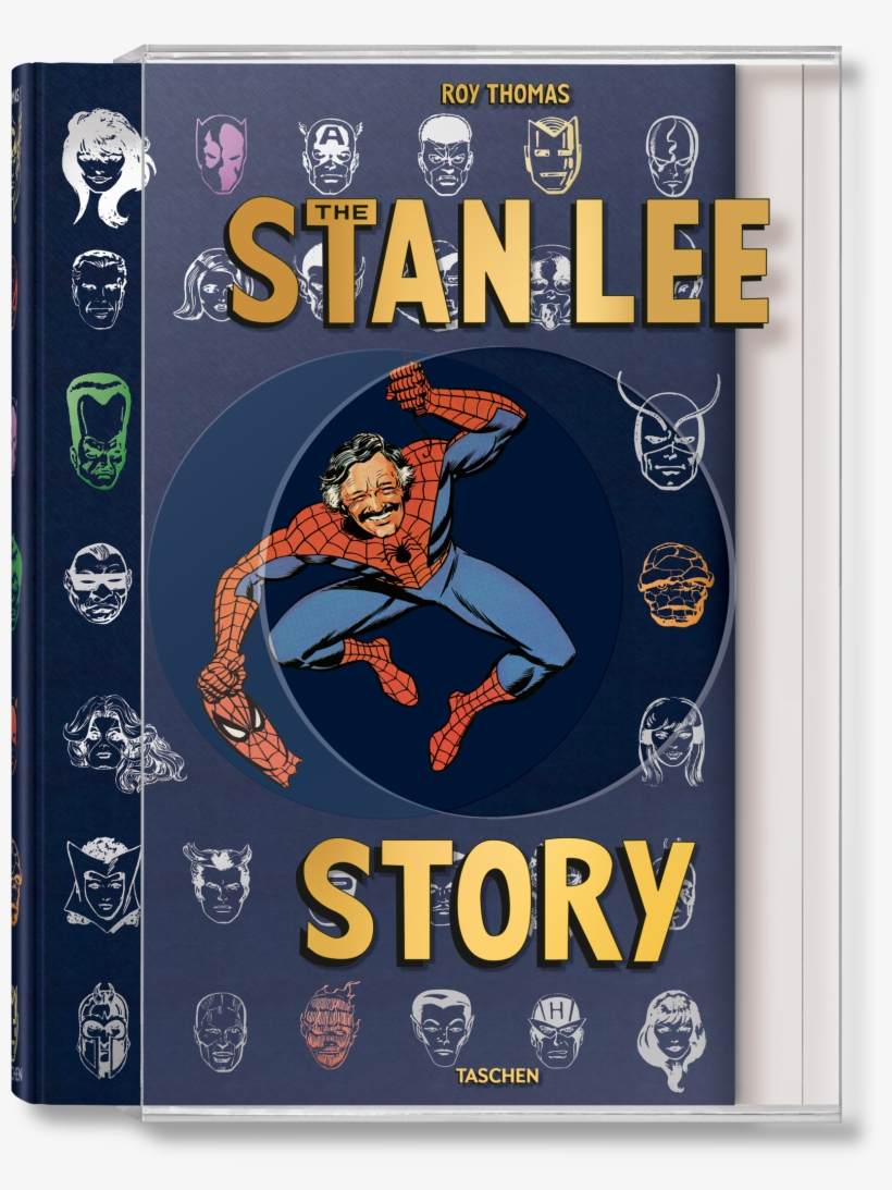 The Stan Lee Story - Stan Lee Story Book, transparent png #8734570